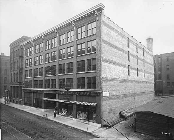 1914 Michaud Brothers, Wholesale Grocers, 253-259 East Fourth Lowertown.jpg