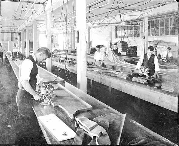1917 Shirt cutting department at Guiterman Brothers factory Lowertown.jpg
