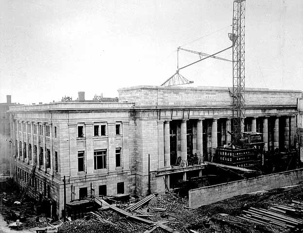 1919 St Paul Union Depot Construction Lowertown Saint Paul.jpg
