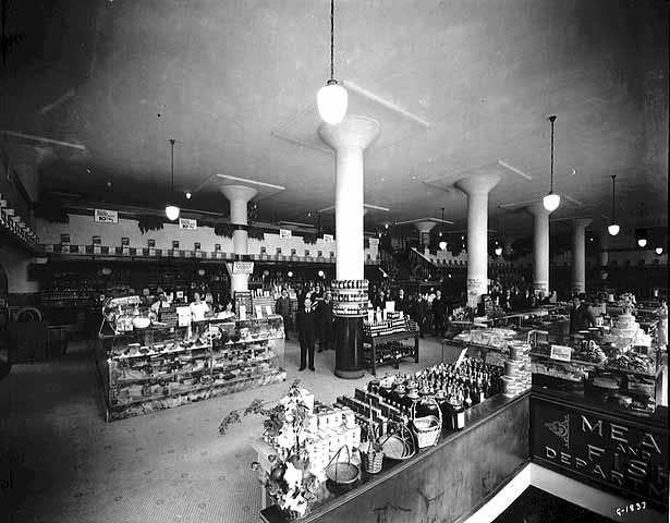 1920 Interior, Michaud's Store, St. Paul Lowertown.jpg