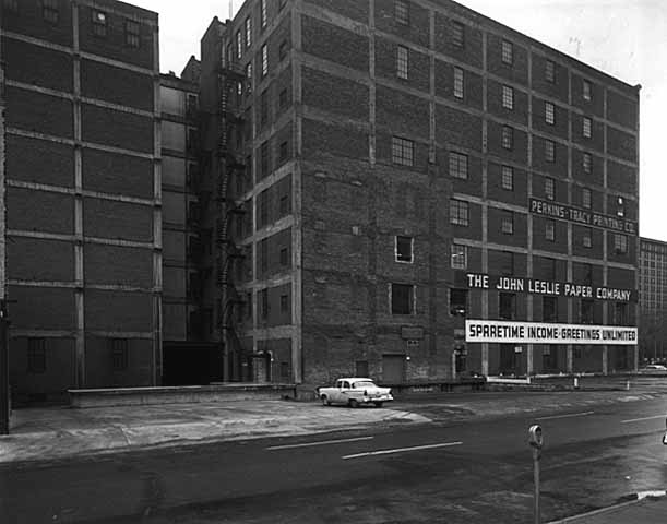 1958 Finch Building, loading dock Lowertown.jpg