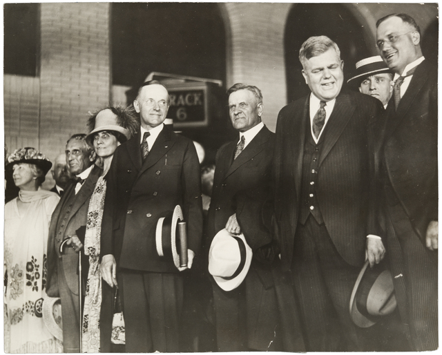 1925 President Coolidge at Union Depot Lowertown.jpeg