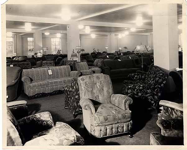 Interior: Cardozo Furniture Company Warehouse 1931