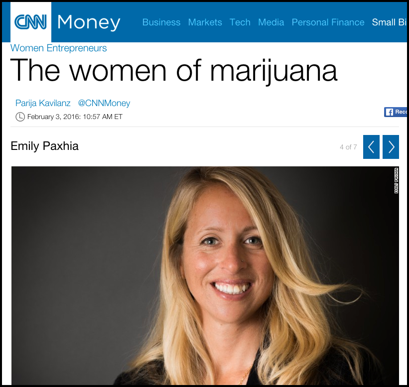 Emily Paxhia in CNN Money