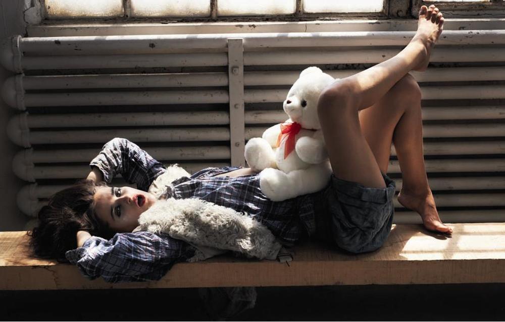 Loulou Robert, fot. Cedric Buchet dla Viva! Moda
