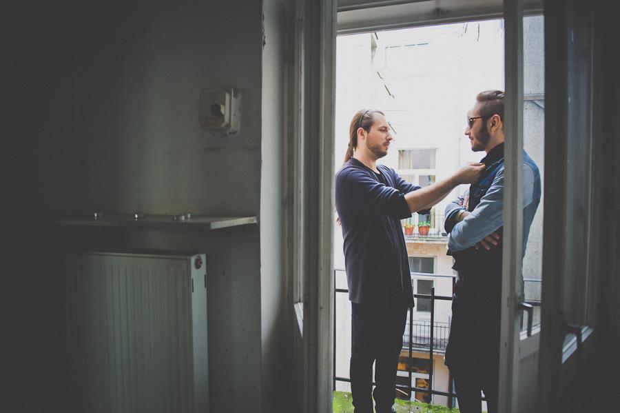 Bartek Michalec i Łukasz Laskowski, projektant i manager tworzą duet Zuo Corp., fot. Artur Cieślakowski dla Do You Know Fashion