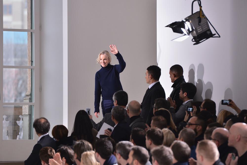 Jil Sander po pokazie, fot. Getty Images/Flash Press Media
