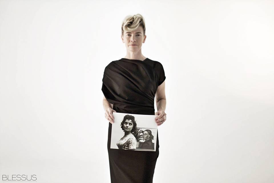 Lidia Popiel w najnowszej Kampanii marki Blessus na jesień-zimę 2013/14 w obiektywie Tadeusza Rolke