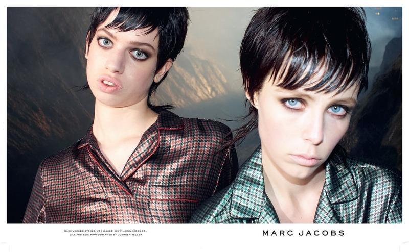 Lily McMenamy w kampanii Marca Jacobsa FW 2013/14