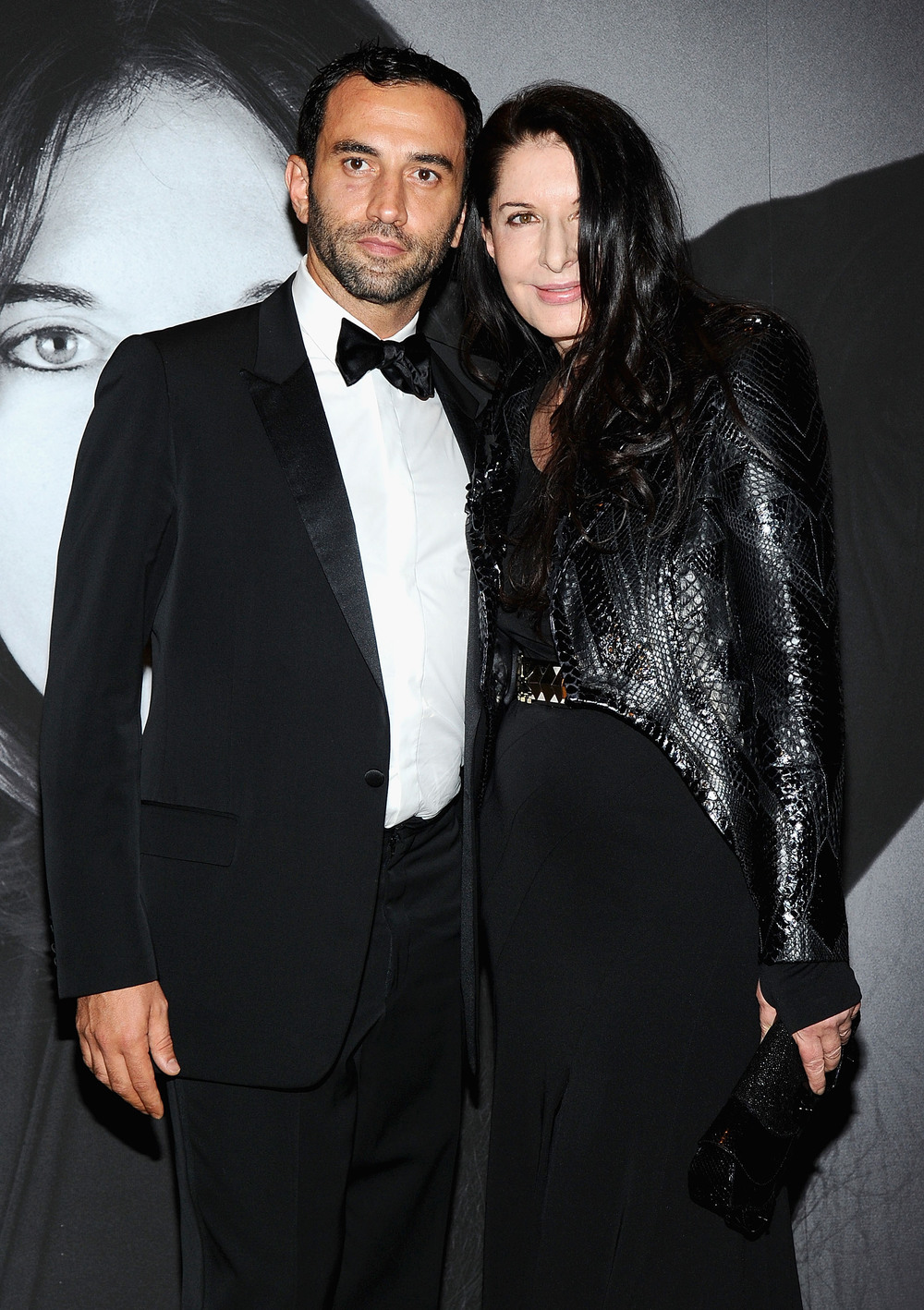 Marina Abramovic i Riccardo Tisci/fot. WireImage/Getty Images/Flash Press Media