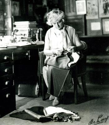 Madeleine Vionnet w swojej pracowni