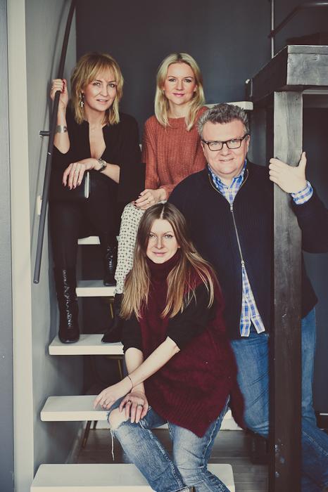 Anna Puślecka, Urszula Majewska, Rafał Michalak i Ilona Majer/fot. Artur Cieślakowski dla Do You Know Fashion