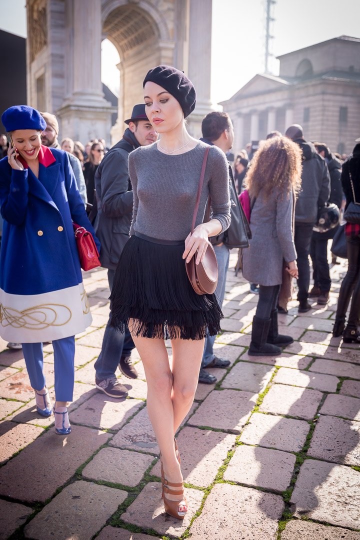 Ulyana Sergeenko, rosyjska projektantka/fot. Marco Antinori dla Do You Know Fashion