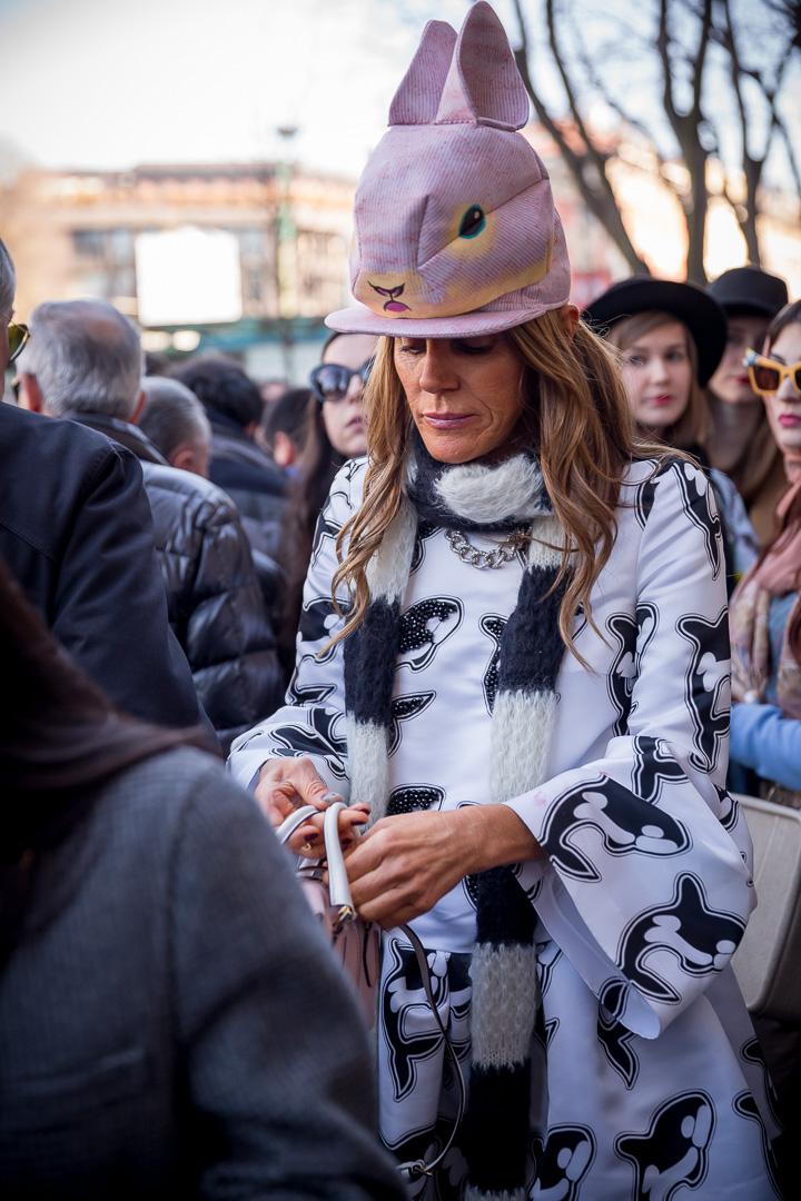 Anna Dello Russo/fot. Marco Antinori dla Do You Know Fashion