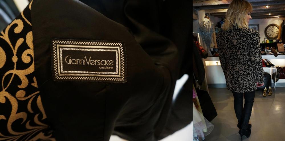 Żakiet Gianni Versace lata 80-te