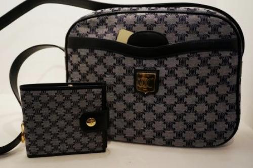 Torebka i portfel ze starym logo Celine