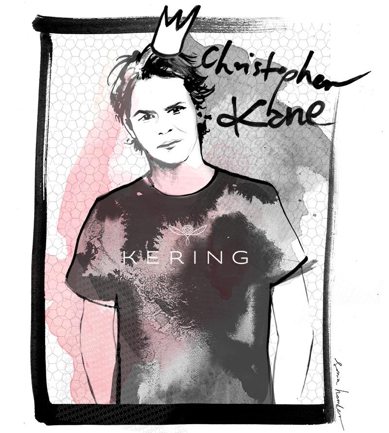 Christopher Kane/ilustracja Sonia Hensler