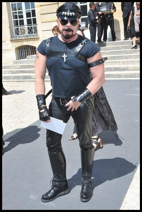 Peter Marino w Paryżu na pokazach Haute Couture/fot. Agencja FORUM