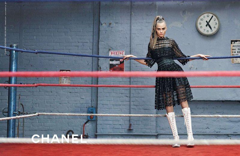 Kampania Chanel jesień-zima 2014/2015/ mat. promocyjne Chanel