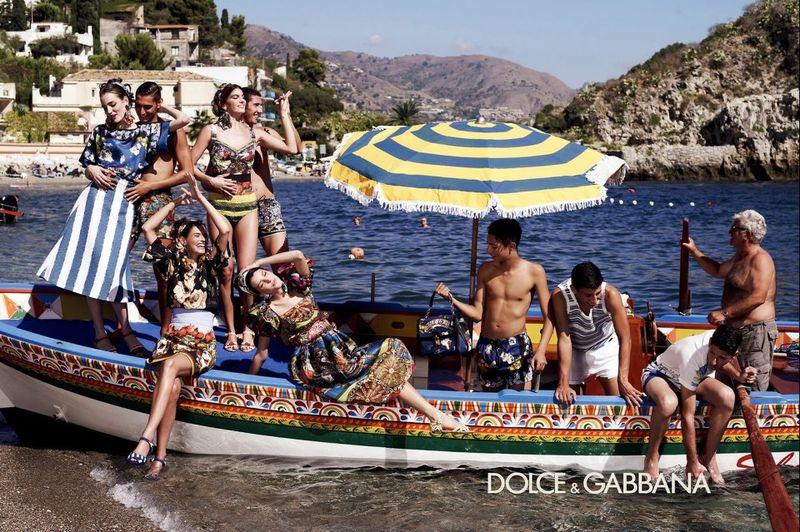Kampania Dolce&Gabbana wiosna-lato 2013/ mat. promocyjne  Dolce&Gabbana