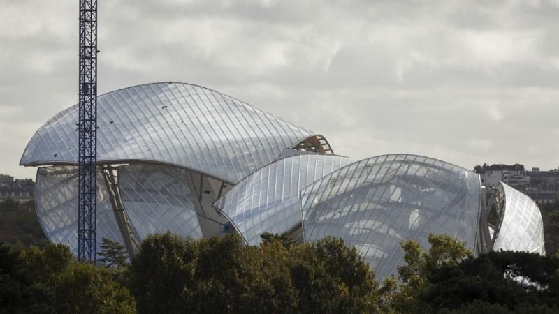 Muzeum Louis Vuitton Foundation for Creation/mat. promocyjneThe Fondation Louis Vuitton