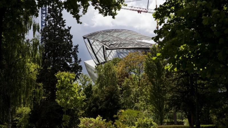 Lasek Boloński wokół Muzeum/mat. promocyjneThe Fondation Louis Vuitton