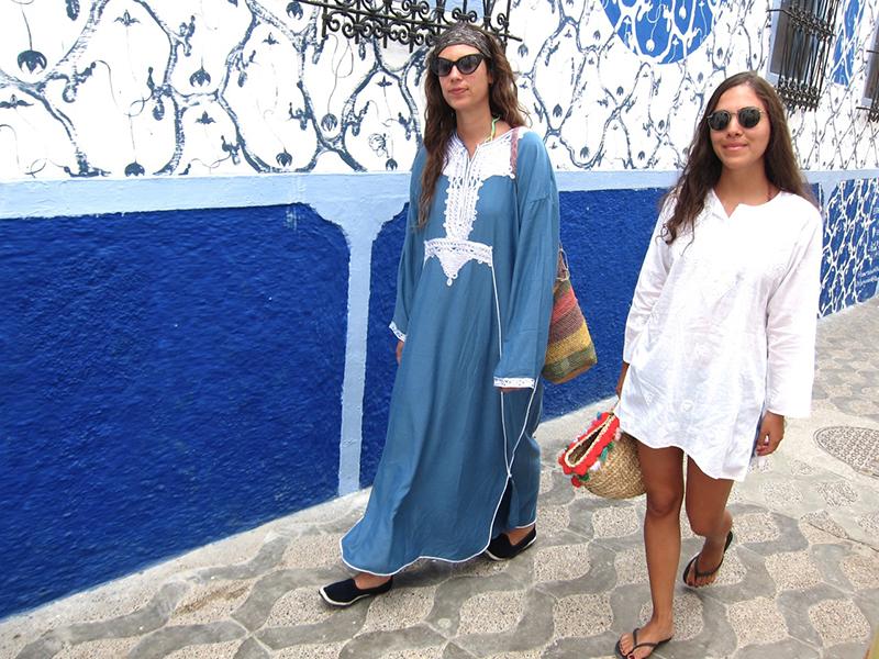 Tatiana Santo Domingo i Dana Alikhani/mat. promocyjne Muzungu Sisters