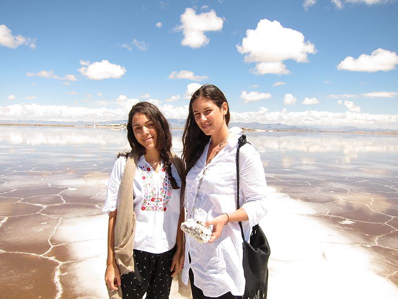 Dana Alikhani i  Tatiana Santo Domingo/mat. promocyjne Muzungu Sisters