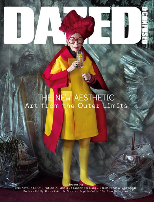 Iris Apfel na okładce Dazed & Confused/mat. prasoweDazed & Confused