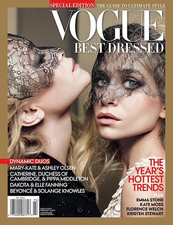 Bliźniaczki Olsen na okładce Vogue'a/ mat. prasowe/Vogue