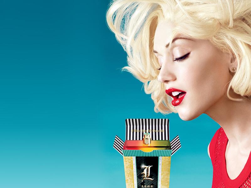 Kampania perfum L.A.M.B./mat. promocyjne L.A.M.B.