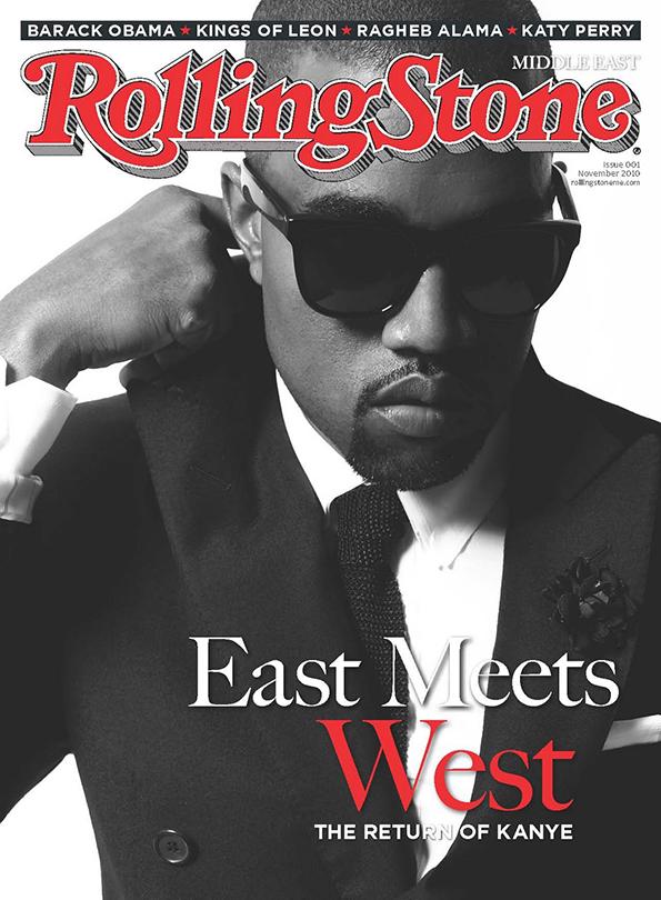 Kanye West na okładce Rolling Stone Magazine/mat. prasowe/Rolling Stone Magazine