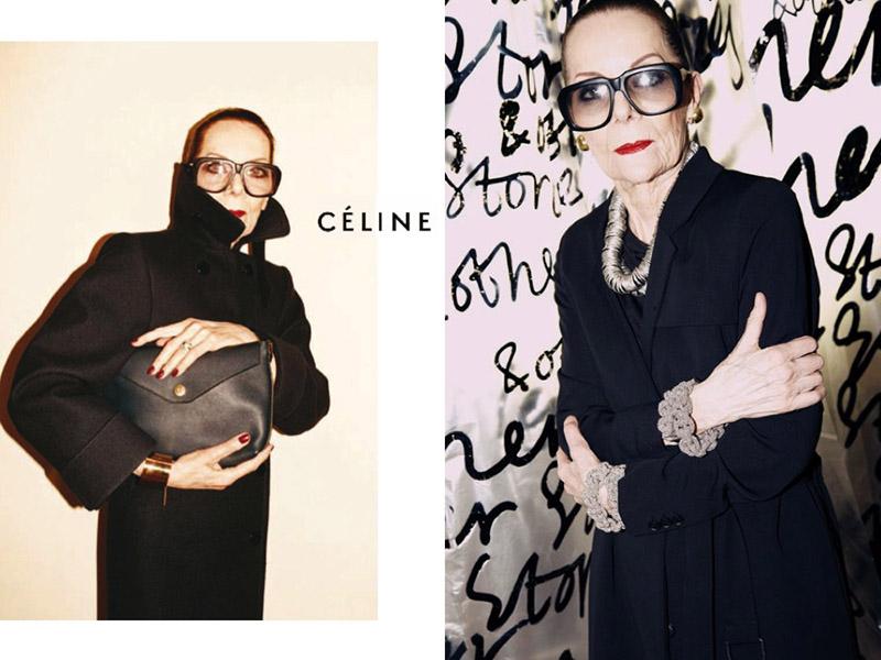 Kampania   Céline   jesień-zima 2010/2011/mat. promocyjne  Céline