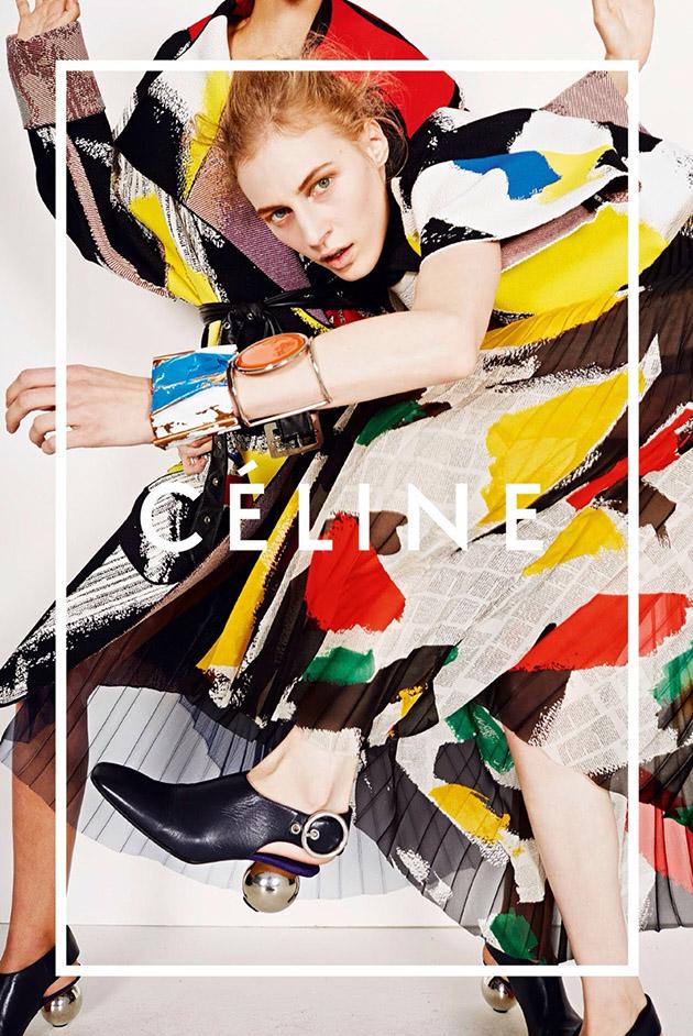 Kampania  Céline  wiosna-lato 2014/mat. promocyjne  Céline