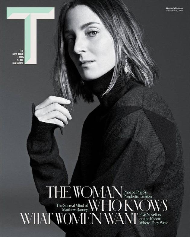Phoebe Philo na okładce magazynu T/mat. prasowe/T Magazine