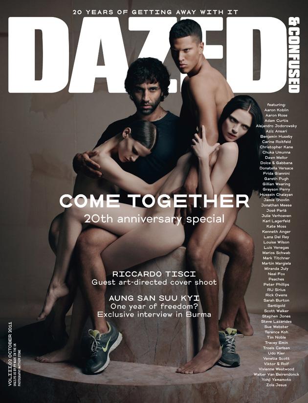 Riccardo Tisci na okładce magazynu Dazed&Confused/mat. prasowe/ Dazed&Confused