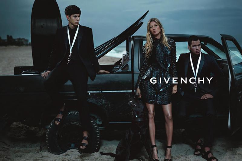 Kampania  Givenchy  wiosna-lato 2012/mat. promocyjne  Givenchy