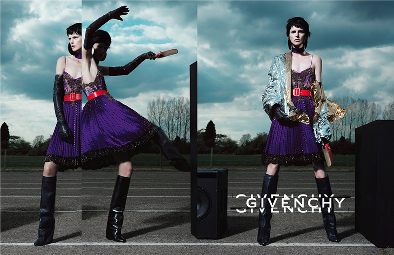 Kampania  Givenchy  jesień-zima 2012/2013/mat. promocyjne  Givenchy