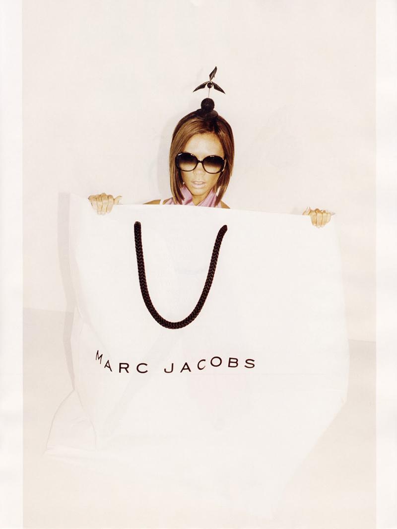 Kampania Marca Jacobsa z Victorią Beckham. Zdjęcia:Juergen Teller/mat. promocyjne Marc Jacobs
