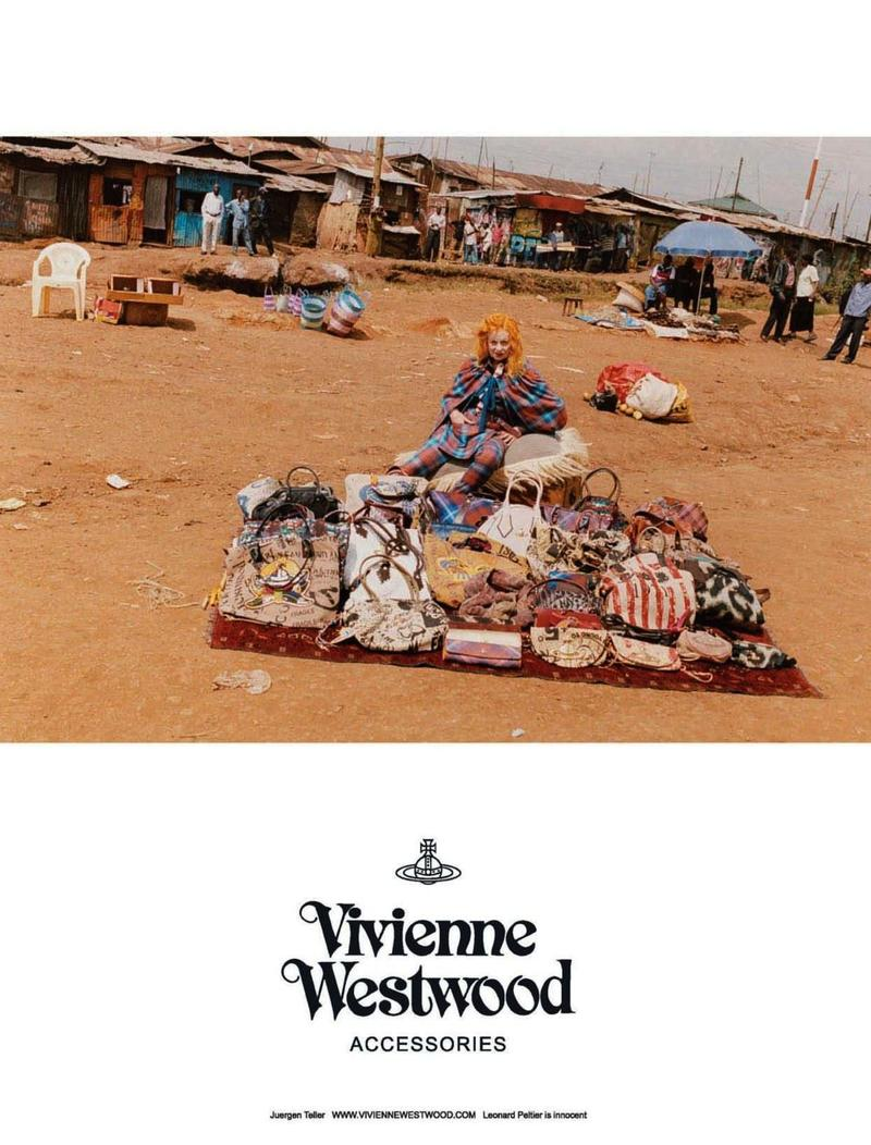 Kampania Vivienne Westwood. Zdjęcia:  Juergen Teller  /mat. promocyjne    Vivienne Westwood