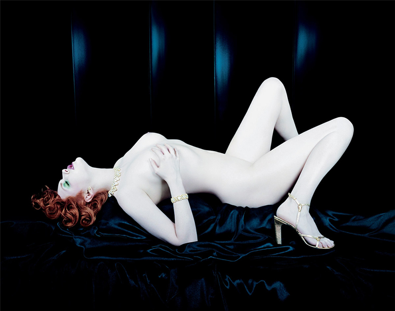 Sophie Dahl w reklamie perfum YSL. Zdjęcia:  Steven Meisel/mat. promocyjne: YSL