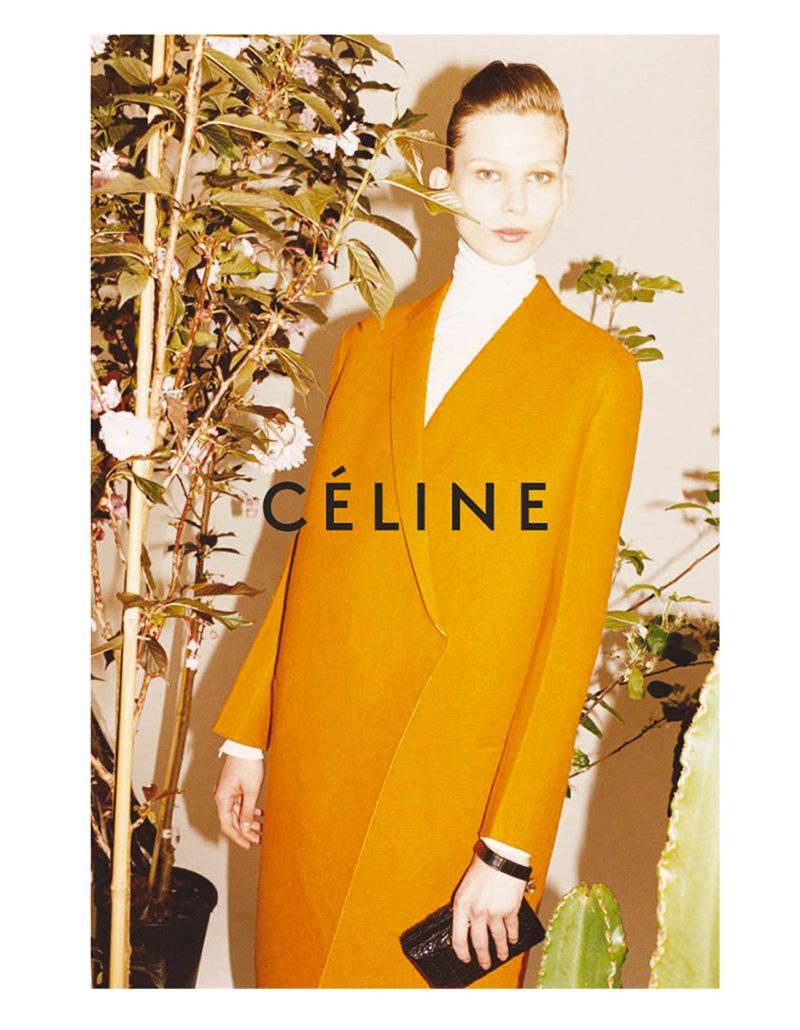 Kampania  Céline na sezon jesień-zima 2011/2012. Zdjęcia:Juergen Teller/mat. promocyjne Céline