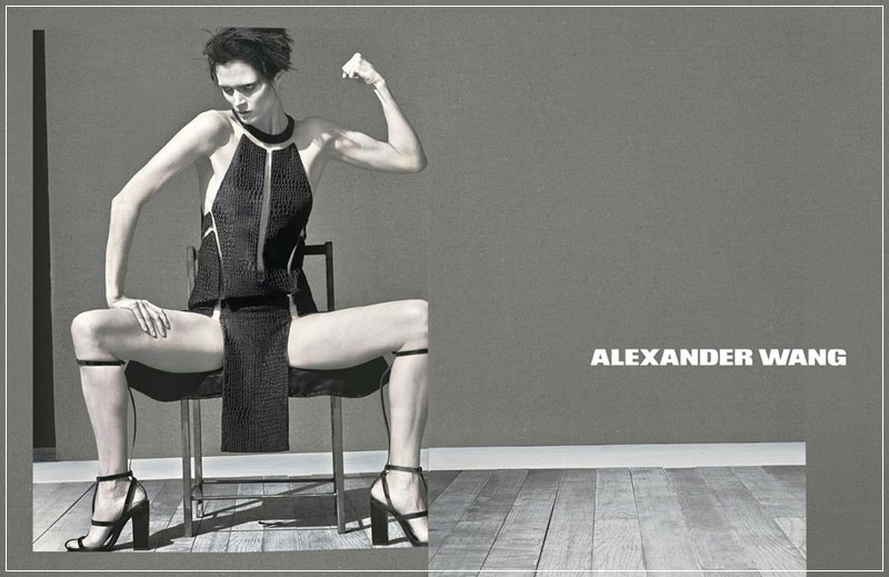 Alexander Wang wiosna-lato 2013/mat. promocyjne  Alexander Wang