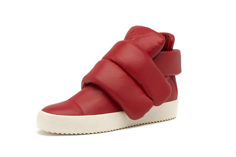 Adidasy  Giuseppe Zanotti inspirowane stylem Kid Cudiego/ mat. promocyjne Giuseppe Zanotti Design