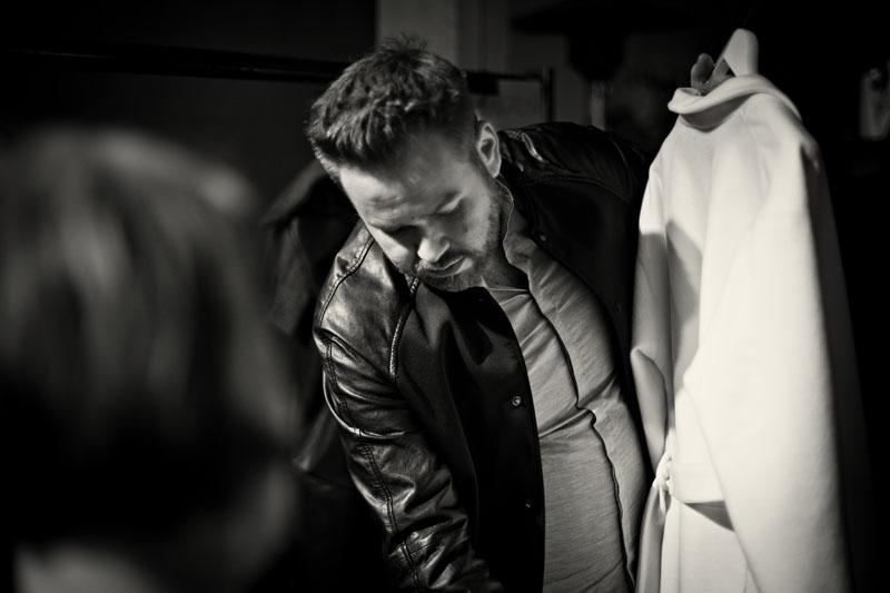 Tomasz Olejniczak, projektant mody/fot. Agnieszka Taukert dla DYKF