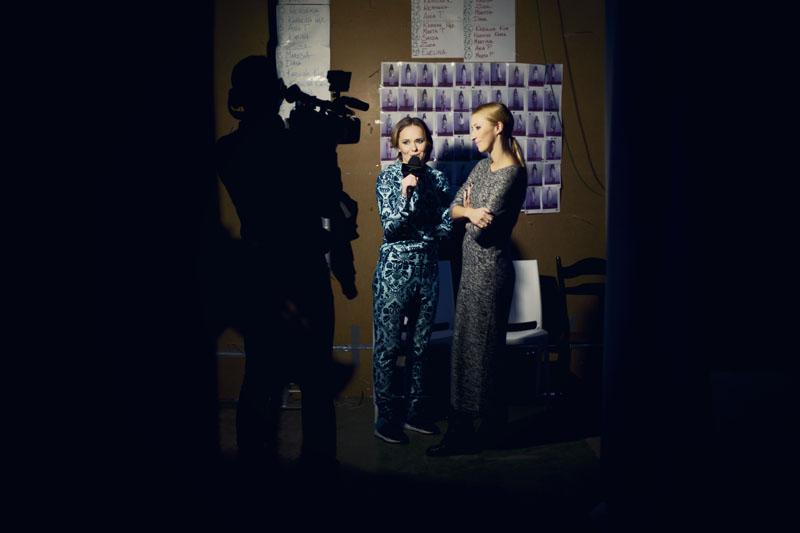 Po prawej Blanka Jordan, projektantka Bizuu/ fot. Agnieszka Taukert dla DYKF