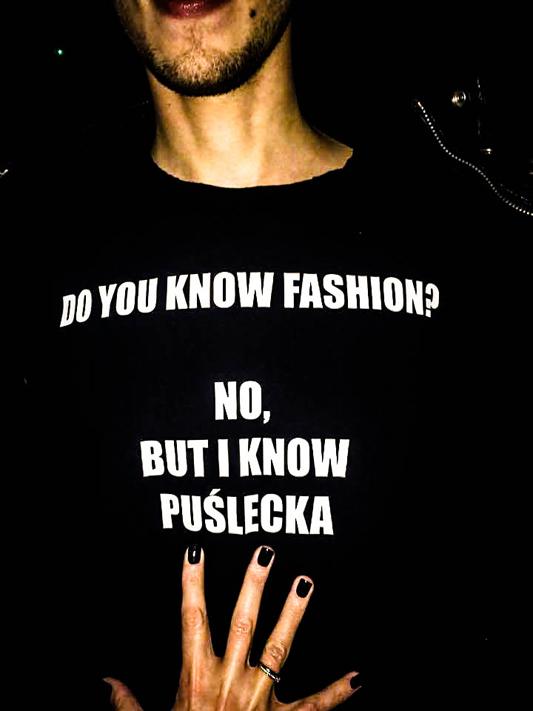 Specjalnie na urodziny DYKF Michał Misiorek zaprojektował t-shirt dla red. naczelnej portalu DYKF Anny Puśleckiej