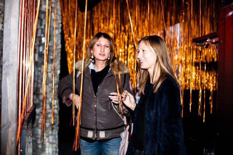 Magda Jagielska i Agata Tanter - właścicielka La Mode Info/fot. Eliza Krakówka dla DYKF