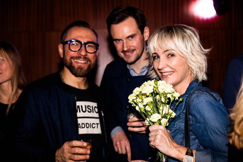 Dariusz Zieliński, Bartek Kraciuk i Anna Puślecka/fot. Eliza Krakówka dla DYKF