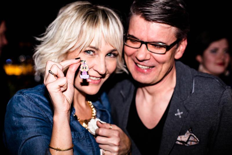 Anna Puślecka i Jacek Badurek, choreograf i reżyser pokazów/fot. Eliza Krakówka dla DYKF